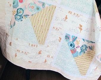 Playful Handmade Baby Quilt