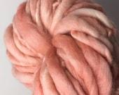 Peach Mini Hank Merino Chunky Yarn
