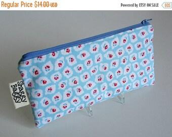 SALE 40% Off Pencil pouch, zipper case, pencil case, zipper pouch, storage pouch, organzier pouch, organizer zipper case