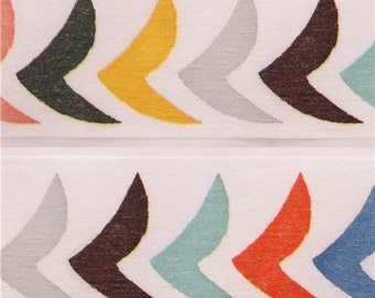 198528 wide mt Washi Masking Tape designer deco tape colorful birds
