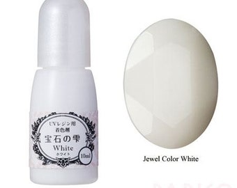 211869 Padico white liquid coloring for UV Resin from Japan