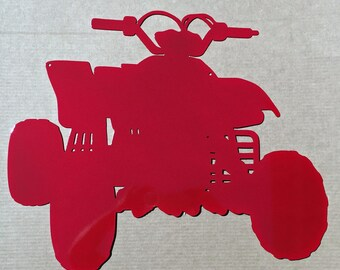 4 Wheeler Metal Wall Art (3A)