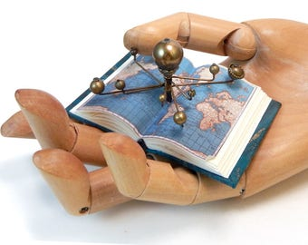 Miniature Book and Orrery