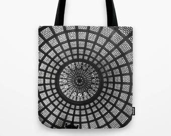 Tiffany Glass Dome Photo Tote Bag