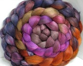 Merino Yak Bombyx Silk 60/20/20 Ecru Roving Combed Top - 5oz - Castle Stairs 2
