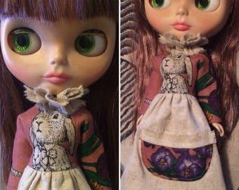 Blythe Dress - Vintage style Dress for Blythe dolls.