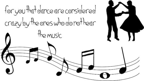 for you that dance quote clip art png clipart dancing couple dancers Digital Download printable graphics art Printables digi stamp