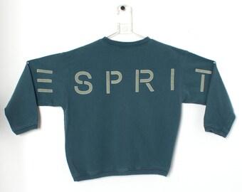 Vintage 80s ESPRIT Crewneck Sweatshirt size