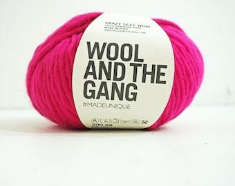 100% Peruvian wool yarn PINK