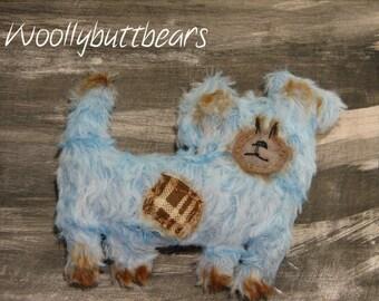Bess The Blue Dog by Woollybuttbears