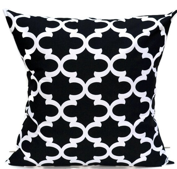 Euro Sham Quatrefoil Large Floor Pillow By Beeyourselfdesigns