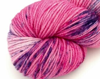 Tonks - Speckled - Hand Dyed Merino Worsted Weight Yarn - Robust WW