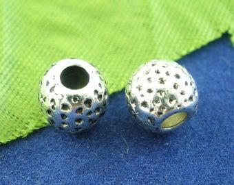 Barrel Spacer Bead - Set of 25 beads - #HK1350