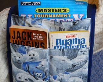 Arctic Animals Armchair Caddy, Remote Control Holder