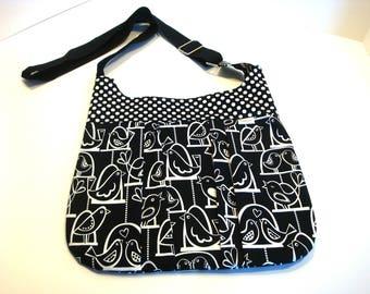Sling Bag - Pleated Cross Body Bag - Hobo Bag - Pleated Handbag - Pleated BoHo Bag