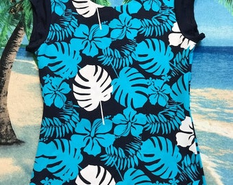 Ladies, Women, Teen Swim Top Large