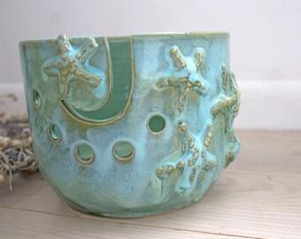 LARGE Starfish Yarn Bowl