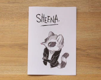 Illustration Zine & Comic: Sheena Vol. 4