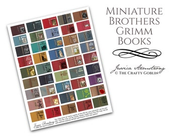 Miniature Brothers Grimm Books