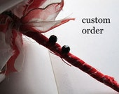 Custom Listing * Vintage Fabric Bouquet * Alternative Bouquets * Fabric Pommery *