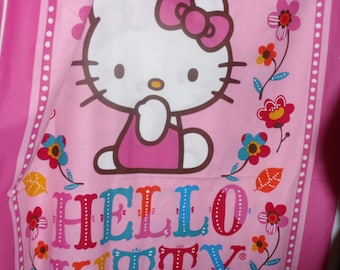 Hello Kitty Quilt Panel