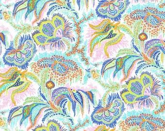 Liberty Fabric Tana Lawn One Yard Paisley Corals C