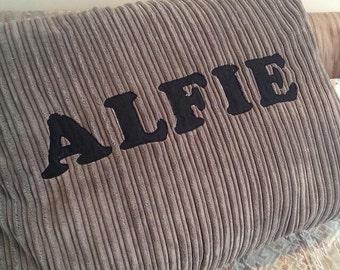 Large Custom Made Personalised Dog Bed Puppy Cushion Pad