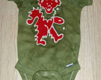 The Grateful Dead Stealie Baby esie Steal your by AppleJaxie