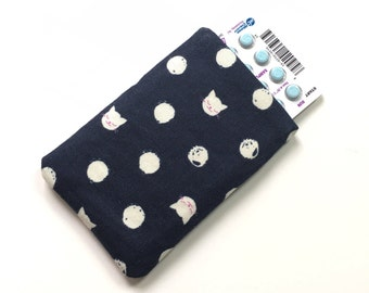 Birth Control Case Pill Pouch - Kittens & Polka Dots