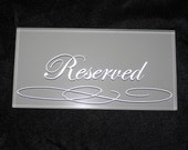 Reserved Listing for Kyrsten, Wedding Calligraphy