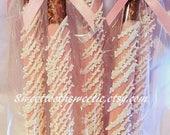 Pink Chocolate Covered Pretzels Baptism Favors Pink Baby Shower Favor Sweet 16 Favor Sweets Table Pink Christening Favor Pink Wedding favors