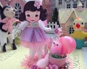 Vintage Inspired Easter SuGaR SwEeT Spring Keepsake EGG HUNT Diorama