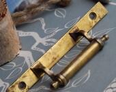 vintage brass door or window handle, home decor, collectible, Cool Vintage, open, secrets