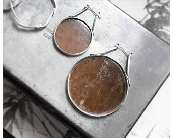 Mica Earrings, small