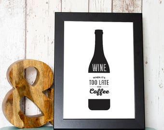 Wine A5 Print