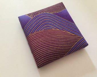 Magic Wallet, Purple Waves Magic Wallet, Billfold, Cash Wallet, Pocket Wallet