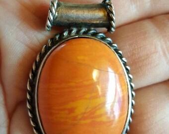 925 Sterling Silver Pendant Bezel from Rustysecrets