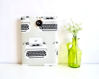 """Fire 7"""", Fire HD 8 Sleeve, Fire HD 10 Sleeve, Kindle Paperwhite Kindle Voyage or Custom Tablet Cover Padded - Typewriters"""