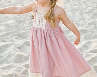 Photoshoot dress, Family photo dress, Special occasion dress, Toddler Girl Dress by bitty bambu