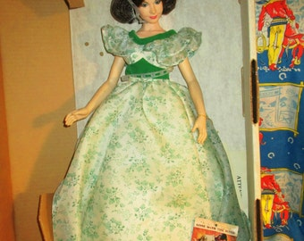 """Gone With the Wind Collectible Doll 21"""" BIG Scarlett  O' Hara World Doll"""