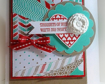 Stampin' Up Thoughts of You Card
