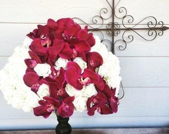 Tall Wedding Centerpiece Flower Arrangement