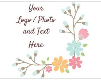 """18"""" x 27"""" Large Lawn Sign Use Own LOGO or PHOTO Design Custom Personalized Quantities 1-40"""