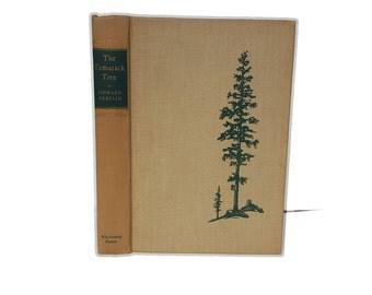 Hollow Book Safe The Tamarack Tree Cloth Bound vintage Secret Compartment Security hiding place