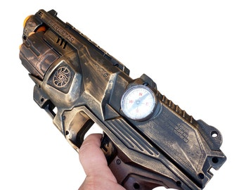 Steampunk Elite Disruptor toy Gun  Zombie walking man Nerf soft dart Vampire Victorian cosplay Limited