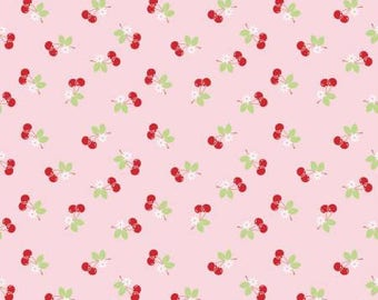 Sew cherry 2 Pink Cherry by Lori Holt for Riley Blake C5804-PINK