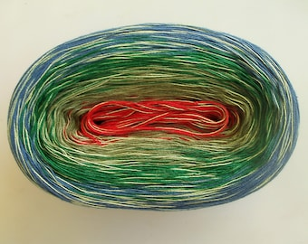 SOUTHSEAS MEDLEY -- 150 gr/720 yards -- Color Changing Cotton yarn -  Fingering Weight