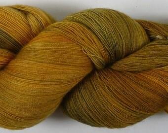 Phoenix--Golden Bronze 52/2 merino/cashmere/silk 2600 meters