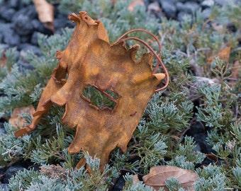 Tree Ent Bark Split Leather Masquerade Mask