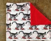 Custom Order for 2 Kliban Cat Blankets